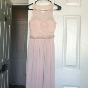 Blush Pink Formal Dress
